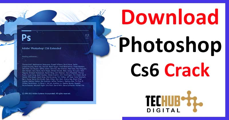 Download Photoshop CS6 Crack